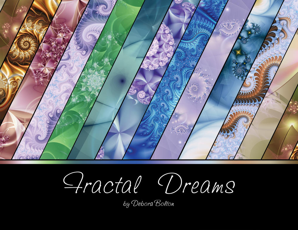 Fractal Dreams Calendar by deloulark