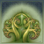 Fractal Foliage by deloulark