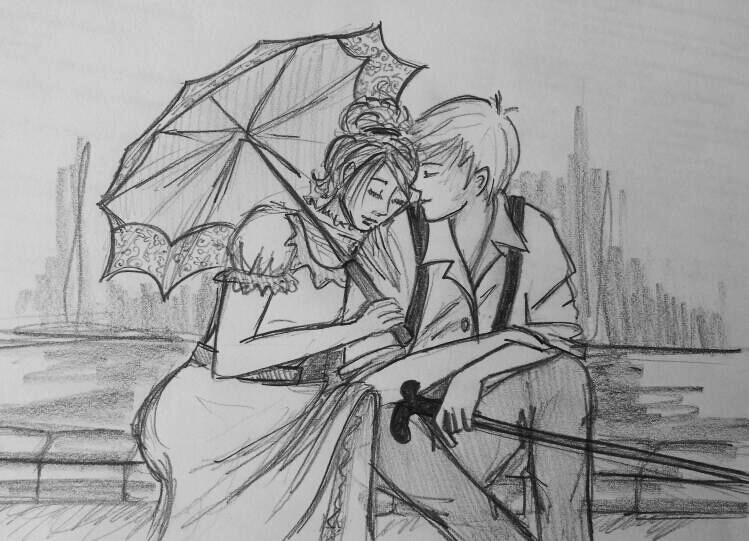 Tessa Gray Fan Art Tessa and jem by
