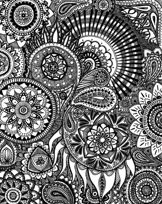 Zentangle-doodle-art-prints by AlphaEyeCreations
