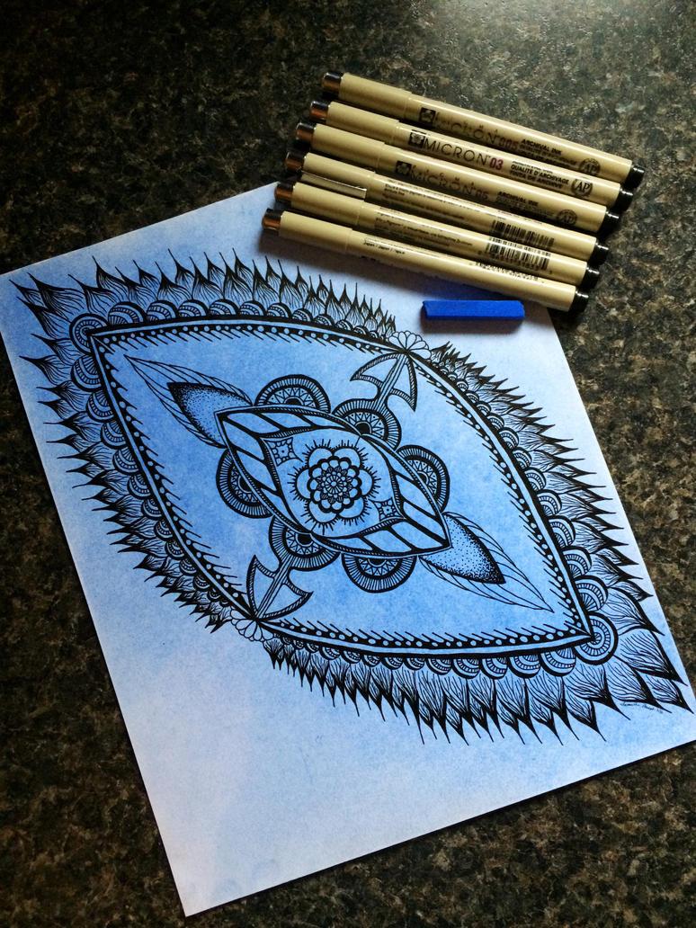 Blue Tangle by AlphaEyeCreations