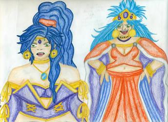 Schala and the Queen