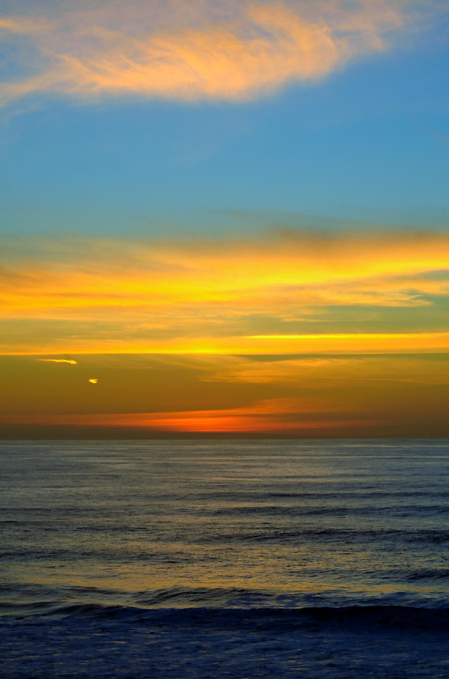 Sunset from Half Moon Bay by FeralWhippet