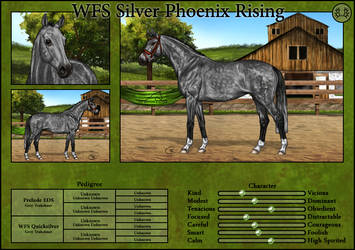 WFS Silver Phoenix Rising by Cookie1992