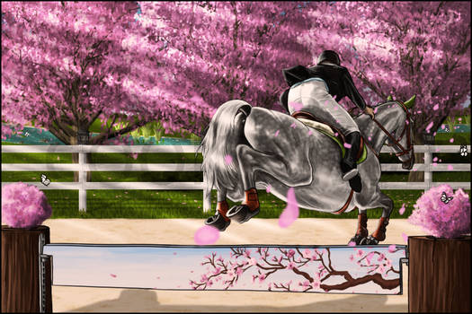 Next to the cherry trees - Storyline 2.2 by Cookie1992