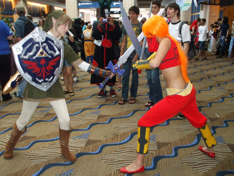 Link VS Gerudo by LinkInSpirit ... : real link costume  - Germanpascual.Com