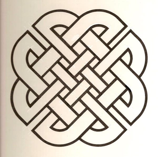 Simple Inlay Designs : Celtic knot by ricketychives on deviantart