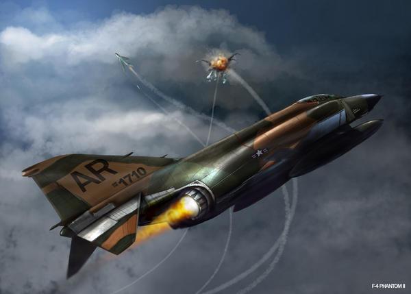 F-4E PHANTOM II by dugazm
