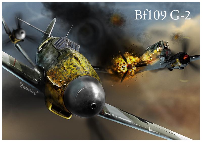 BF-109 G2 by dugazm