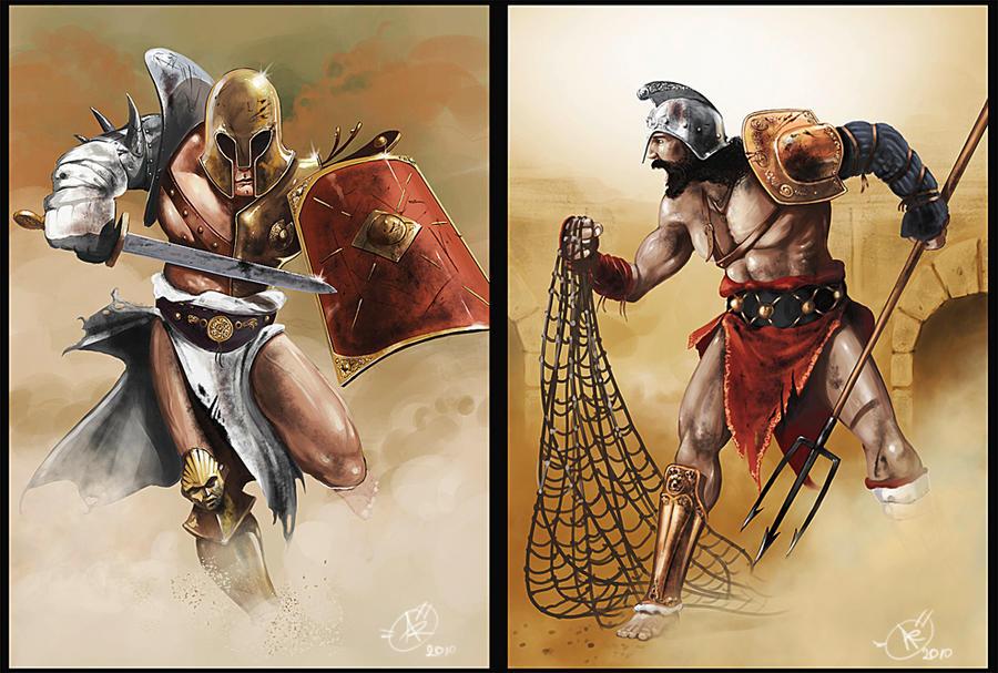gladiators by dugazm