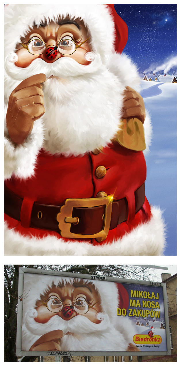 """BIEDRONKA"" christmas 2010 by dugazm"