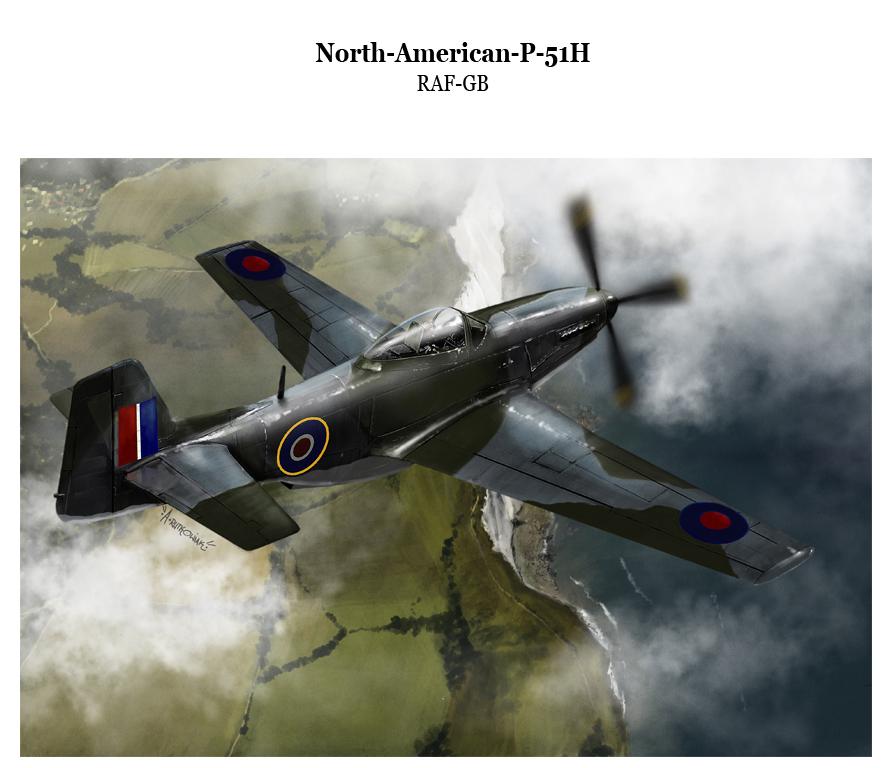 p51h RAF by dugazm