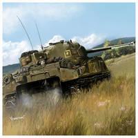 Sherman Ic Firefly by dugazm
