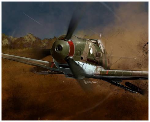 Bf 109 E1