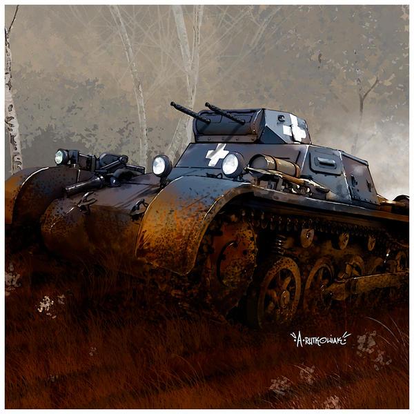 PanzerI by dugazm