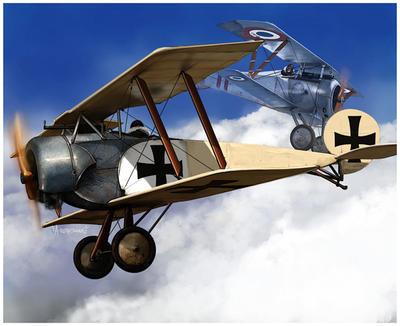 Fokker BII by dugazm