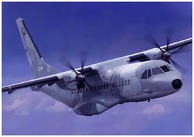 CASA C-295M by dugazm