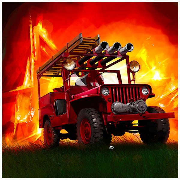 Willys Jeep  FireTeam by dugazm