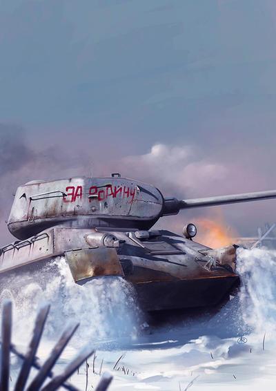T34 85 by dugazm