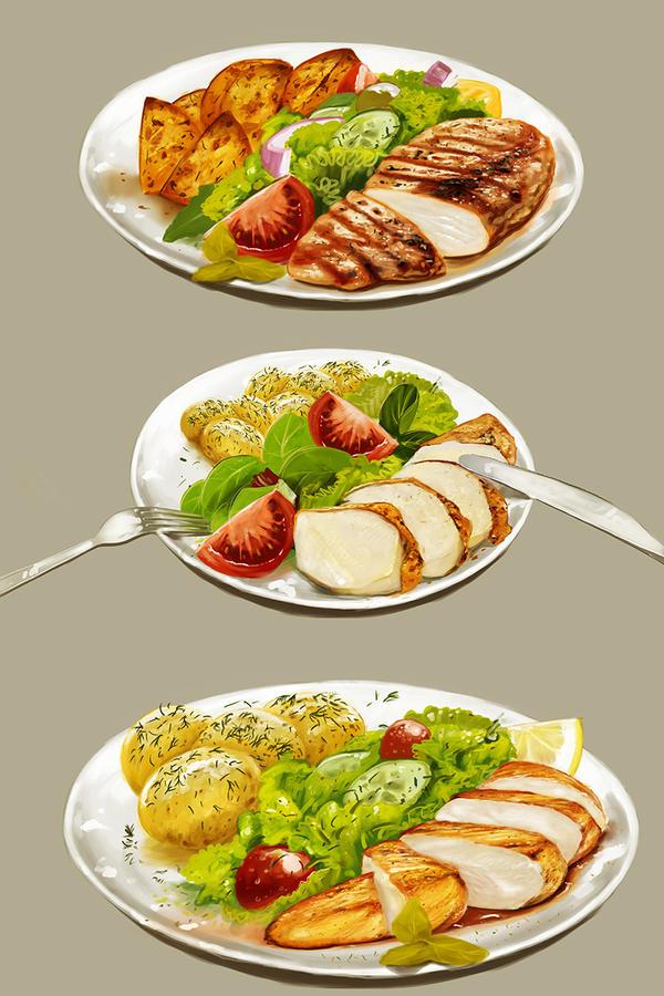 food just food by dugazm
