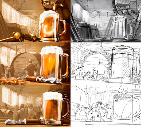 just beer by dugazm