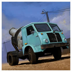 Star 25 Cement Mixer Truck by dugazm