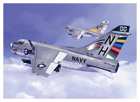 A7e Corsair Navy