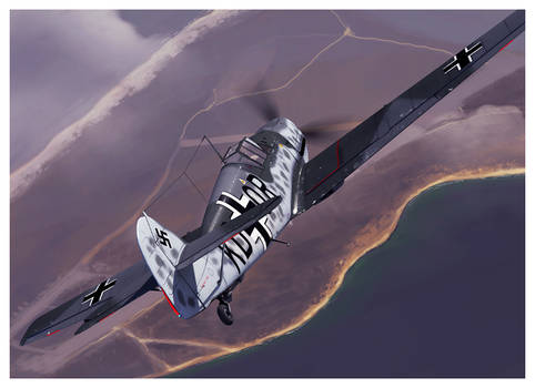 Bf 109 T prototype