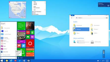 Windows 10 - 2015 by CianDesign