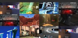 GunZ The Duel - Splash of maps.