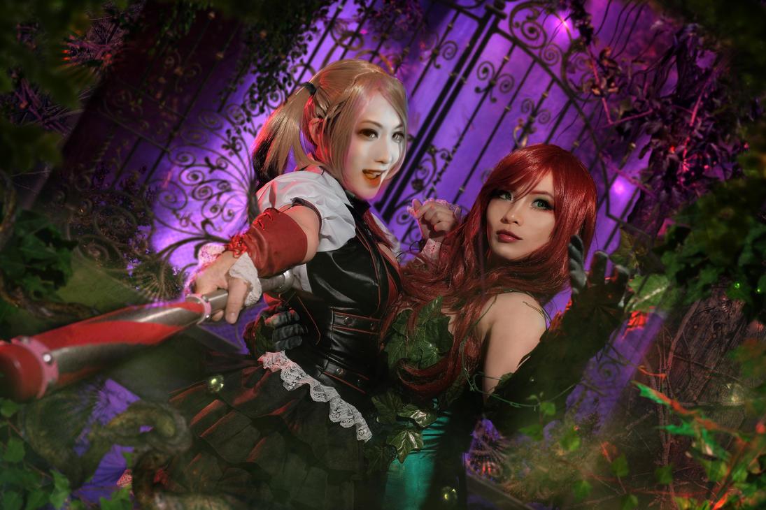 Harley X Ivy by crystalfirey