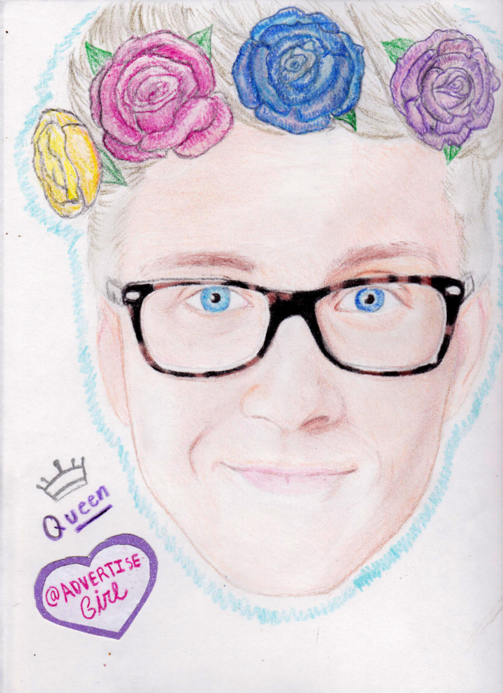 tyler oakley drawing cartoon wwwimgkidcom the image