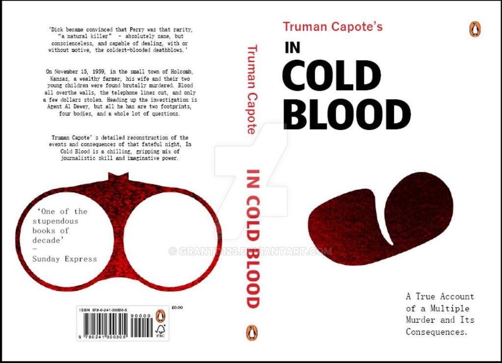 Penguin Book Cover Dimensions : Penguin book cover entry in cold blood by grantd on