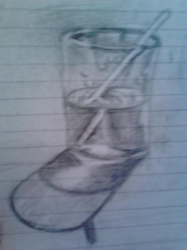 Mi dibujo vaso con agua my drawing glass of water by - Vaso con agua ...