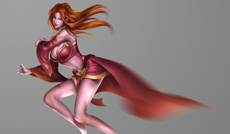 Dota naked girls lina fucking sexy clips