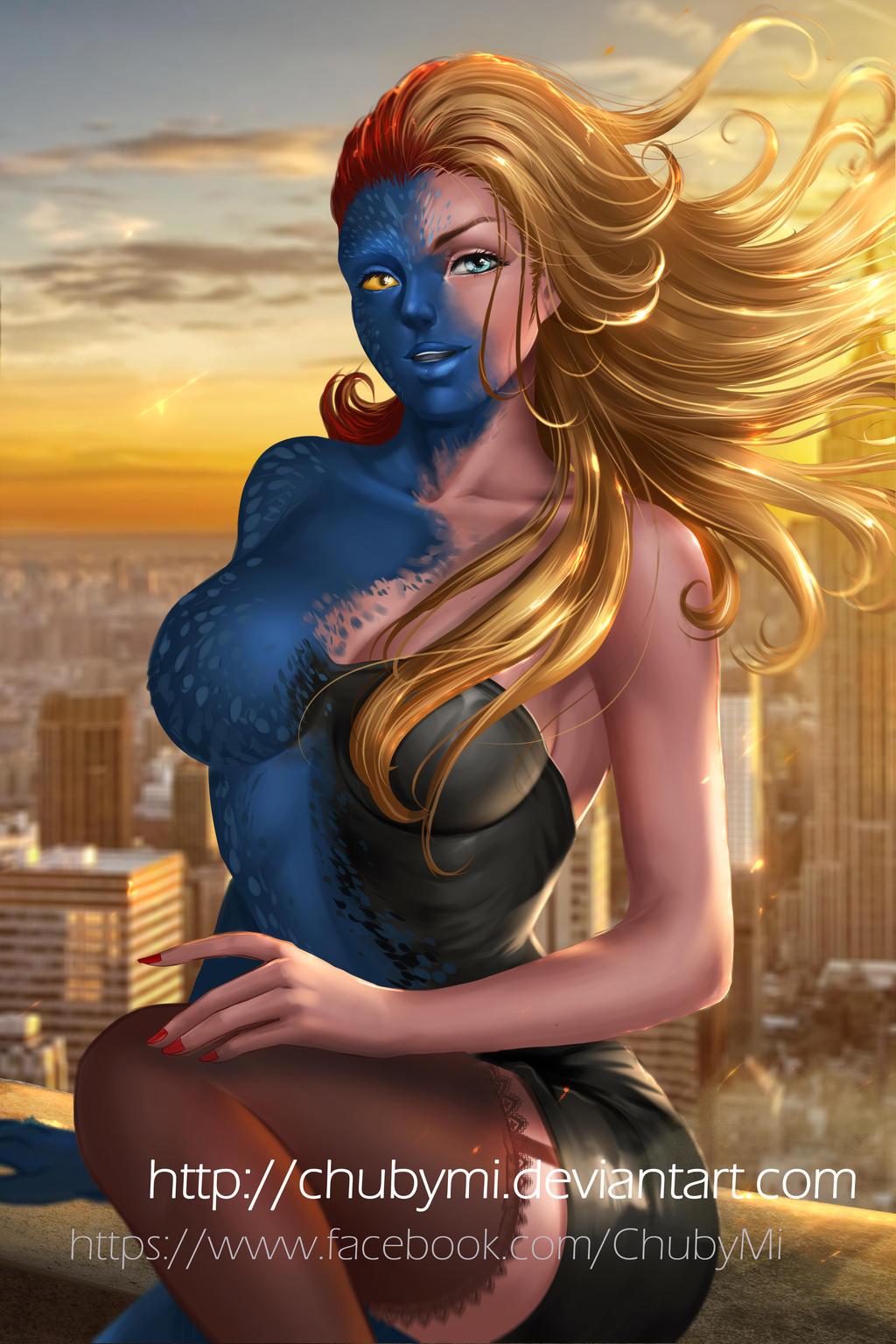 Mystique X-men by ChubyMi
