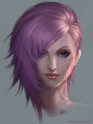 VI portrait by ChubyMi