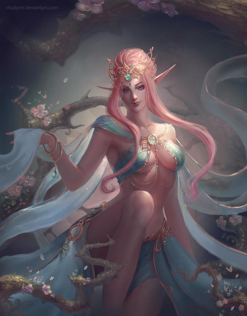 Virgo by ChubyMi
