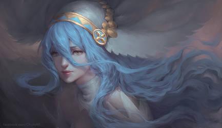 Azura Fire Emblem by ChubyMi