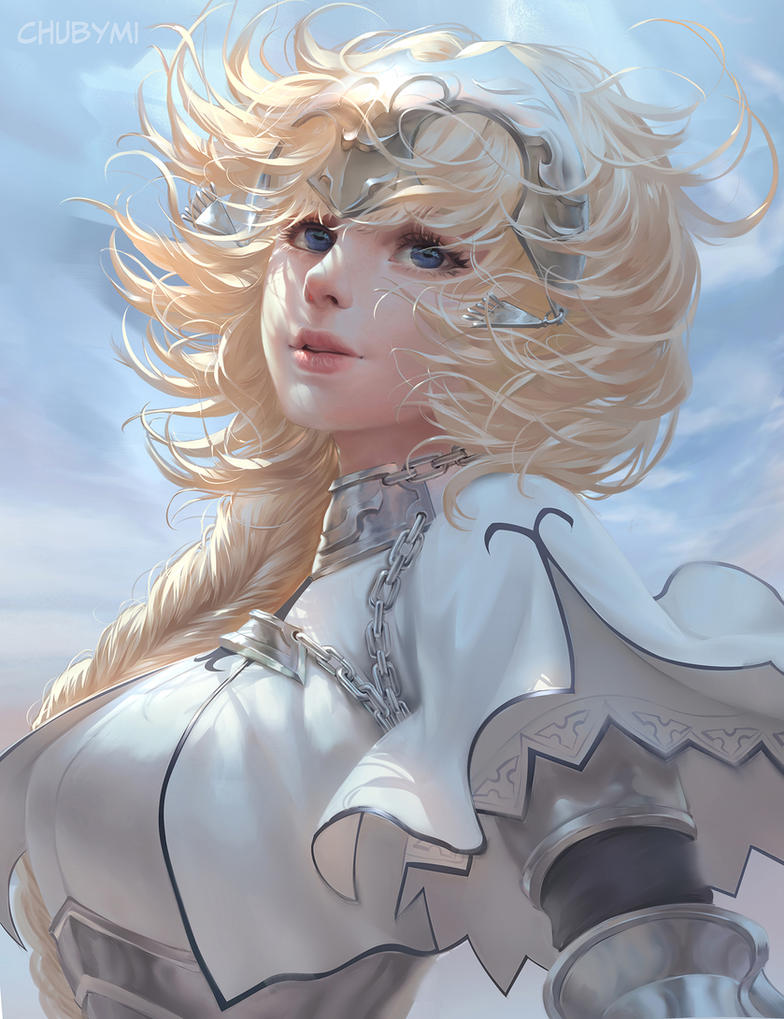Jeanne d'Arc fate by ChubyMi