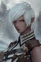 Snow by ChubyMi