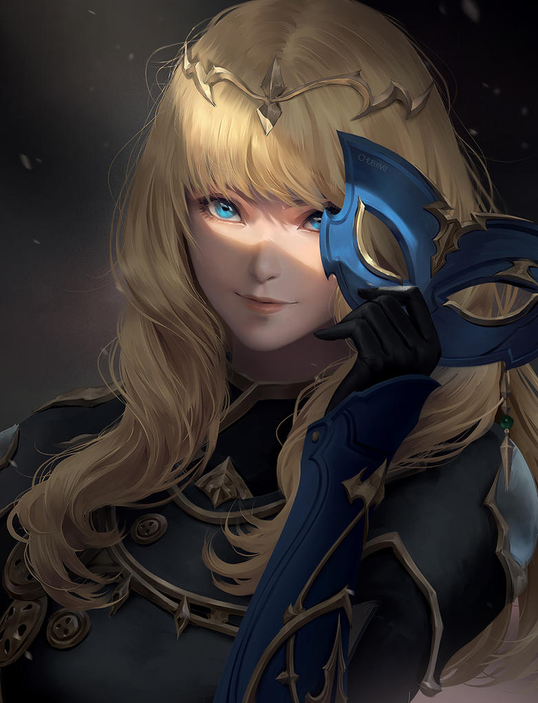 The mask by ChubyMi