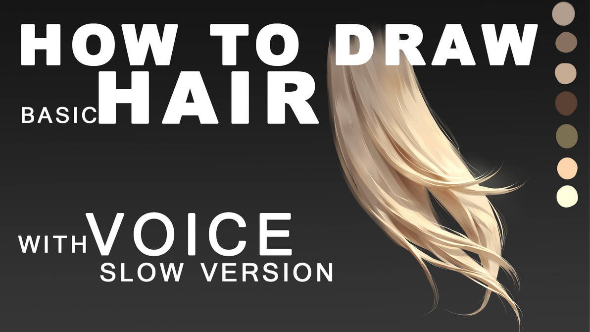 Video Tutorial with Voice for hair Part 2 by ChubyMi