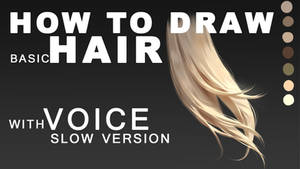 Video Tutorial with Voice for hair Part 2