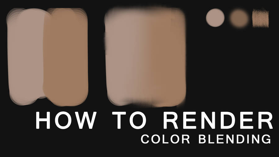 [For beginner] How to do rendering in Photoshop by ChubyMi