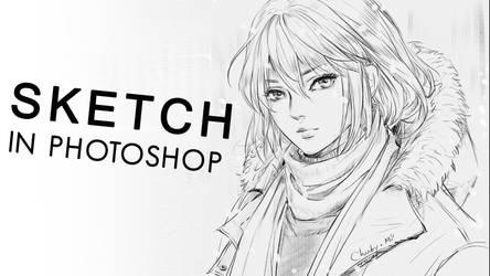How I sketch by ChubyMi