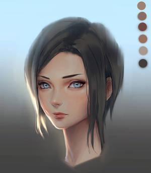 Skin rendering in Photoshop