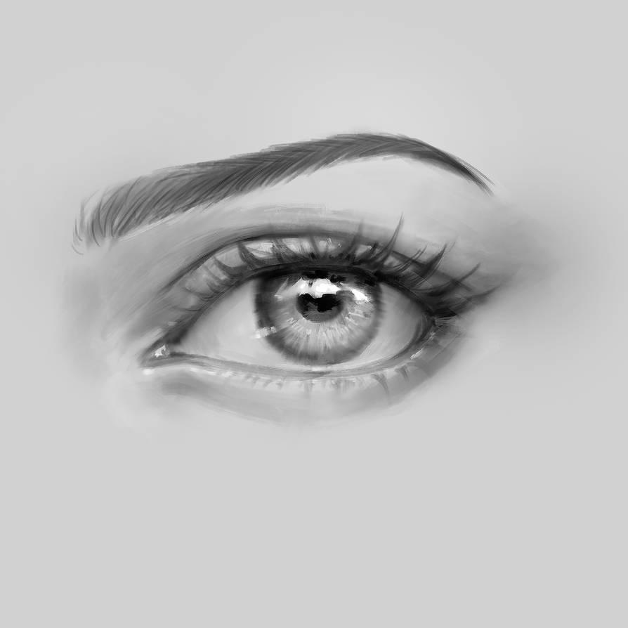 How to draw eyes by ChubyMi