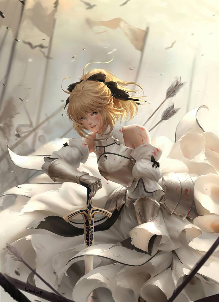 Saber Lily by ChubyMi