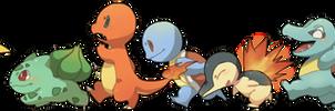 some pokemon by KIRU75